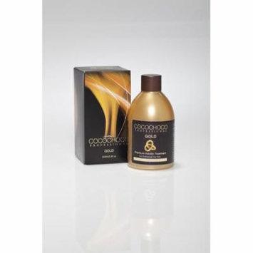 COCOCHOCO Gold keratin hair straightening treatment 8.4oz - with 24k liquid gold