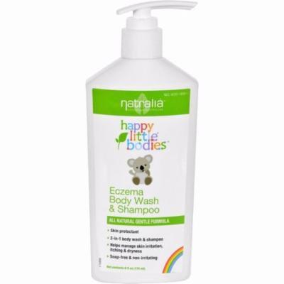 Happy Little Bodies Eczema Body Wash And Shampoo - Natralia - 6 Oz