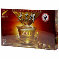 Prince of Peace American Wisconsin Ginseng Root Tea 20 Bag