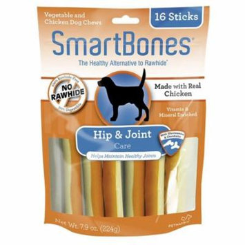 SmartBones Hip & Joint Care Treat Sticks for Dogs - Chicken 16 Pack - (3.75