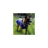 Alpine Extreme Weather Puffer Dog Coat - Navy Blue Medium
