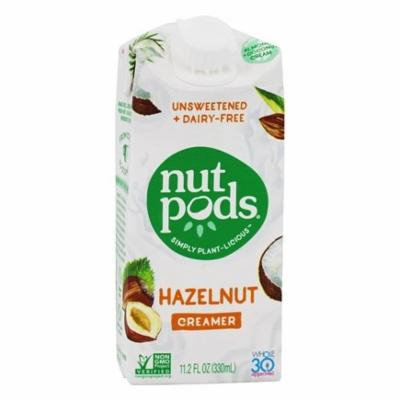 Unsweetened + Dairy-Free Creamer Hazelnut - 11.2 oz. by nutpods(pack of 3)