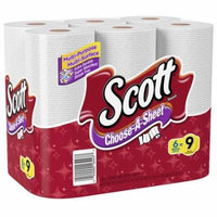 Scott Choose-a-Size Paper Towels Mega White6.0 ea(pack of 3)