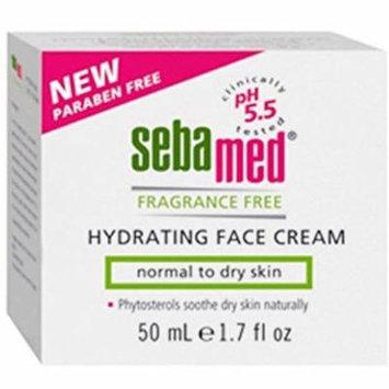 4 Pack - Sebamed Hydrating Face Cream, Fragrance Free 1.7 oz