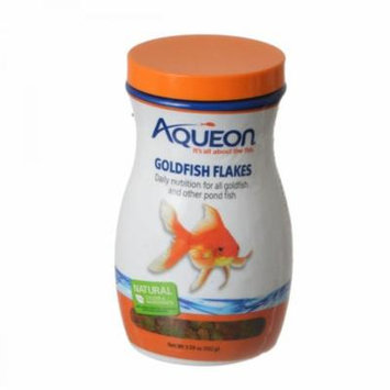 Aqueon Goldfish Flakes 3.59 oz - Pack of 10