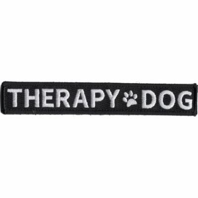 THERAPY DOG W/ PAW PRINT PATCH HOOK AND LOOP BACK VEST SERVICE COMFORT ANIMAL