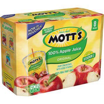Mott's 100% Juice Pouches, Apple, 6.75 Fl Oz, 8 Count (Pack of 4)