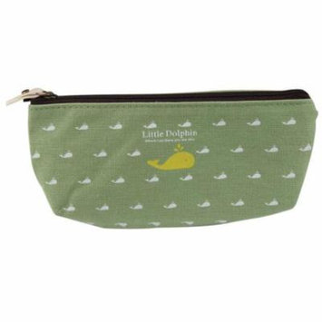 Mosunx Students Pen Pencil Case Canvas Bag Cosmetic Makeup Pouch Coin Purse Popular New