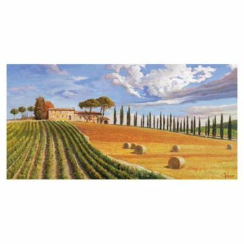 Global Gallery's 'Colline toscane' By Adriano Galasso Unframed Giclee on Paper Print