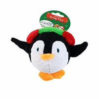 Penguin Ball Holiday Dog Toy by Midlee