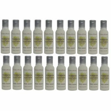 Crabtree & Evelyn Verbena & Lavender Body Lotion Lot of 20 ea 0.8oz Bottles. Total of 16oz