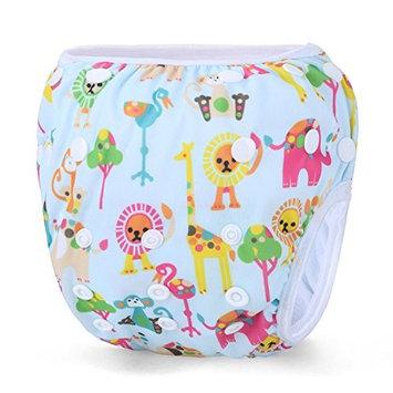 Storeofbaby Baby Girls' Swim Diaper Reusable Waterproof Adjustable Infant 0 3 Years
