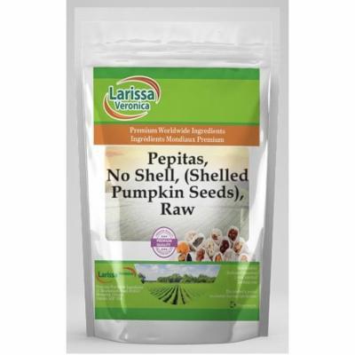 Pepitas, No Shell, (Shelled Pumpkin Seeds), Raw (4 oz, ZIN: 527043) - 2-Pack