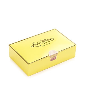 Louis Sherry Canary Chocolate Truffle Box, 12 Piece