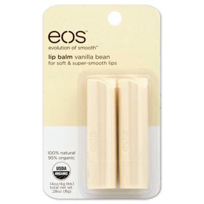 EOS Vanilla Bean Lip Balm - 0.28 oz