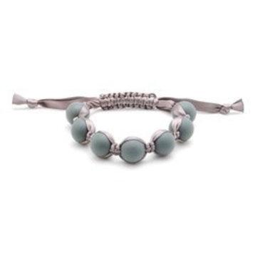 Chewbeads Cornelia Teething Bracelet, 100% Safe Silicone - Stormy Grey