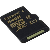 Kingston - flash memory card - 64GB - microSDXC UHS-I