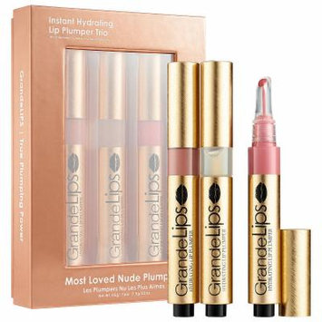 Grande Cosmetics Instant Hydrating Lip Plumper Trio - Most Loved Nude Plumper