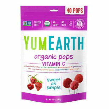 YumEarth Organic Vitamin C Lollipops - 8.5 oz - 3Pack