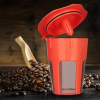 Womail Reusable Replacement Coffee Filter For Keurig 2.0 K500 K400 Brewers