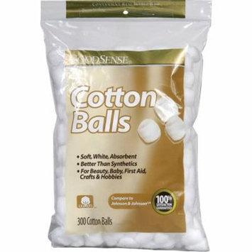 Cotton balls, 300 count part no. usc03775 (300/package)