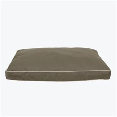 Carolina Pet 012190 MF Classic Canvas Rectangle Memory Foam Jamison Pet Bed - Sage with Khaki Cord, Medium