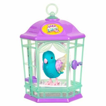 Little Live Pets Bird With Cage, Skye Twinkles