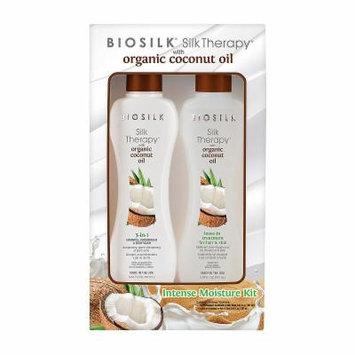 BioSilk Organic Coconut Oil Duo 2-pack Value Set - 11.3 oz.