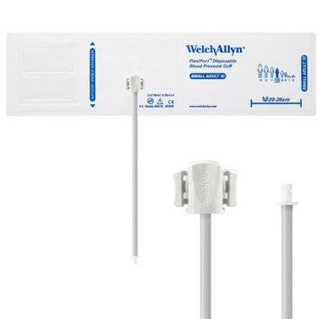 Welch Allyn WEL SOFT-10-1HP Flexiport Blood Pressure Cuff for Bayonet Connector Small Adult - Pack of 20