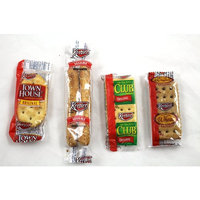 Keebler Crackers Variety Pack, 100 Count (25 2-Pack Each of Club, Wheat, Townhouse & Sesame Sticks), 1.6 Pound Bag