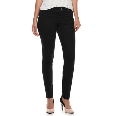 Women's Juicy Couture Flaunt It Seamless Midrise Skinny Jeans