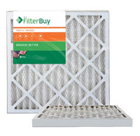 AFB Bronze MERV 6 24x24x2 Pleated AC Furnace Air Filter. Filters. 100% produced in the USA. (Pack of 2)