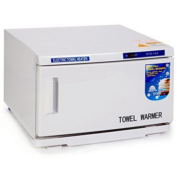 M2 Outlet 2 In 1 Hot Towel Warmer Cabinet 16L UV Sterilizer Salon Spa Beauty Equipment