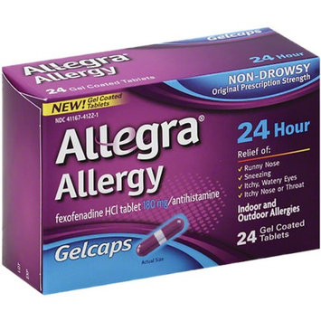Allegra 24 Hour Allergy, Gelcaps 24 ea
