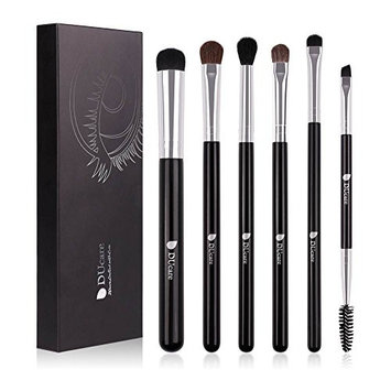 DUcare Makeup Brushes 6Pcs Eyeshadow Brush Set Cosmetics Eyeliner Eyebrow Shader Blending Brushes