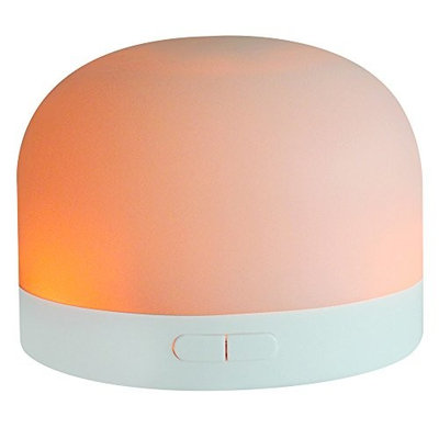 Xmeilo Mini 7 LED USB & Battery Powered Car Cool Aromatherapy Aroma Essential Oil Diffuser for Office Travel Home Vehicle