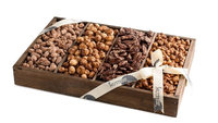 The Nuttery Ny The Nuttery 4 Compartment Nuts Gift Treat-Father's Day Section Gift Box