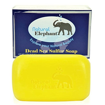 Natural Elephant Dead Sea Sulfur Soap 4.4 oz (125 g)