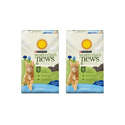 Purina Yesterday's News Fresh Scent Cat Litter - 13.2 lb. Bag (2 Pack)