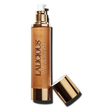 LALICIOUS - The Golden Oil - Shimmering Marula, Macadamia & Coconut Beauty Oil, 4 Ounces