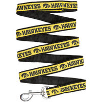 Pets First College Iowa Hawkeyes Pet Leash, Assorted Sizes