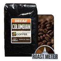 100% Colombian Decaf Coffee, Fresh Roasted Coffee LLC (5 lb. Whole Bean)