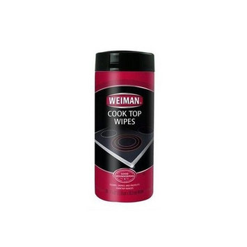 Weiman 20-5960 Cook Top Cleaning Wipes-30 Per Pack