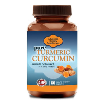 Totally Products Turmeric Curcumin 750 mg with 95% Curcuminoids Extract plus Bioperine