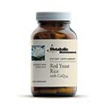 Metabolic Maintenance - Red Yeast Rice + CoQ10 - Potent Concentration for Cardiovascular Support, 120 Capsules