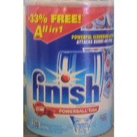 finish Powerball Tabs Fresh Scent All in 1 120 Tabs