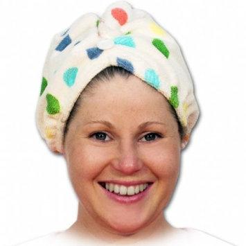 NPW-USA Girlfriend! Twisty Microfiber Hair Turban, Spotty