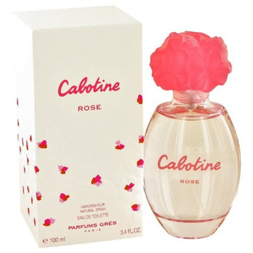 Parfums Gres Cabotine Rose by Parfums Gres Eau De Toilette Spray 3.4 o