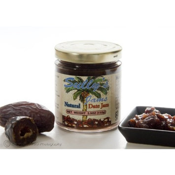 100% Natural Gourmet HOT DATE Jam with Chilies - 4 Ounce Jar