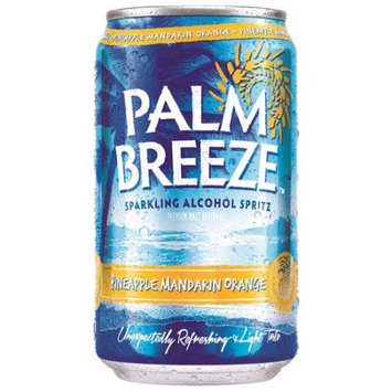 Mike's Hard Lemonade Palm Breeze Pineapple Mandarin Orange Sparkling Alcohol Spritz, 12 fl oz, 12 pack